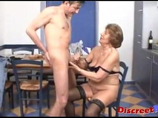 Old skinny granny hard sex 02