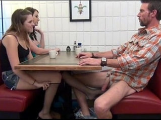 Cialis Porn Tube - Buy Cialis daughter gives Footjob and BJ to not her dad Under the Table Porn Tube