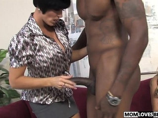 Busty relatives Shay Foxx and Haley Cummings share a BBC