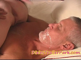 The Milf DAUGHTER, Daddy and the CREAM PIE EATING