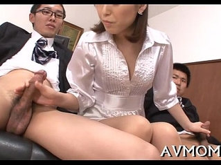 Sexy mother i'd like to fuck devours large cock