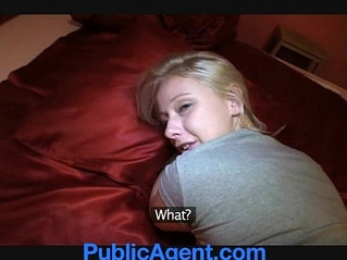 PublicAgent Blonde Student Monika Loves my Huge Dick